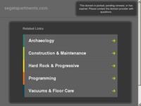 Frontpage screenshot for site: Apartmani Seget (http://www.segetapartments.com)