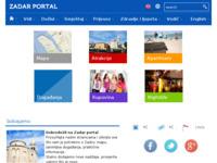 Slika naslovnice sjedišta: Zadar Web portal (http://www.zadarportal.com)