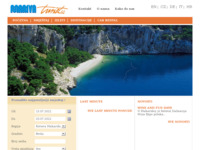 Frontpage screenshot for site: Marivaturist (http://www.marivaturist.hr)