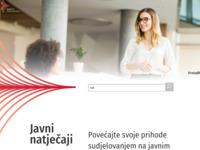 Slika naslovnice sjedišta: Tenderi.hr - javna nadmetanja online (http://www.tenderi.hr/)