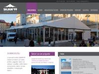 Slika naslovnice sjedišta: Sajam 99 d.o.o. šatori za sve prigode (http://www.sajam99.hr/)