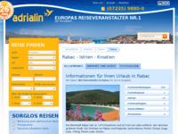 Slika naslovnice sjedišta: Rabac (http://www.kroatien-adrialin.de/ortsinfos/rabac/)