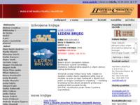 Frontpage screenshot for site: C.A.S.H. izdavaštvo i grafika (http://www.cash.hr)