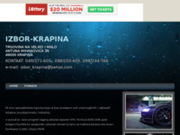 Slika naslovnice sjedišta: Izbor trgovina Krapina (http://izbor-krapina.tripod.com/)