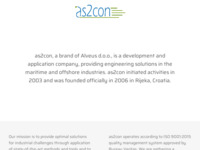 Frontpage screenshot for site: As2con (http://www.as2con.com)
