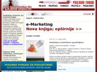 Slika naslovnice sjedišta: e-Marketing (http://www.poslovniforum.hr/marketing-knjige/)