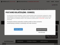 Frontpage screenshot for site: Euromusic Agency d.o.o. (http://www.musicshop.hr)