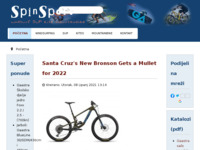 Slika naslovnice sjedišta: Spinsport d.o.o. (http://www.spinsport.hr/)