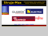 Frontpage screenshot for site: (http://www.struja-max.hr)