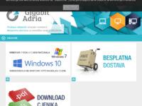 Frontpage screenshot for site: Gigabit d.o.o. (http://www.gigabit.hr/)
