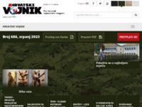 Slika naslovnice sjedišta: Hrvatski vojnik (http://www.hrvatski-vojnik.hr)