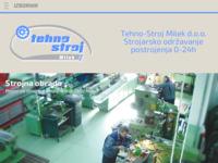 Frontpage screenshot for site: Strojarsko održavanje Tehnostroj Milek (http://www.tehnostroj-milek.hr)
