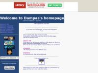 Frontpage screenshot for site: Damirove osobne stranice (http://members.tripod.com/dampas)