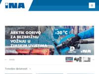 Slika naslovnice sjedišta: INA - Industrija nafte d.d. (http://www.ina.hr)