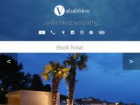 Frontpage screenshot for site: Valsabbion (http://www.valsabbion.hr/)