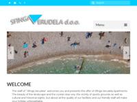 Frontpage screenshot for site: Sfinga Verudela d.o.o. - Ribarska koliba (http://www.sfingaverudela.hr/)