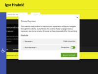 Frontpage screenshot for site: Igor Hrabrić - osobna web stranica (http://igor-hrabric.iz.hr/)