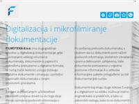 Frontpage screenshot for site: Filmoteka d.o.o. (http://www.filmoteka.hr)