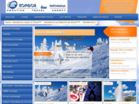 Frontpage screenshot for site: Kondor line, putnička agencija Split (http://www.kondorline.hr/)