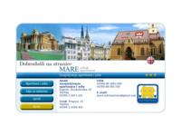 Frontpage screenshot for site: Privatni smještaj - Mare, Zagreb (http://www.accommodation-mare.com)