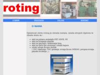Slika naslovnice sjedišta: Roting d.o.o. (http://www.obrada-metala.net)