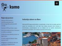 Slika naslovnice sjedišta: kamo (http://www.kamo.hr)