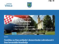 Slika naslovnice sjedišta: Općina Vinica (http://www.vinica.hr/)