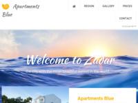 Slika naslovnice sjedišta: Apartmani Blue - Zadar - Diklo (http://www.apartmani-blue.com)