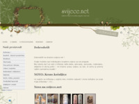 Frontpage screenshot for site: Unikatne svijeće za svaku prigodu (http://svijece.net/)