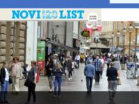 Frontpage screenshot for site: Novi List (http://www.novilist.hr/)