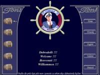 Frontpage screenshot for site: Konoba apartmani Toni Primošten (http://www.konoba-toni.com)