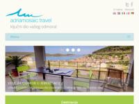 Frontpage screenshot for site: Adriamosaic - putnička agencija za odmor u Hrvatskoj (http://www.adriamosaic.com)