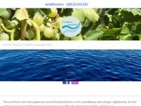 Frontpage screenshot for site: Tetida d.o.o. Poreč (http://www.agencija.hr/)