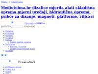 Slika naslovnice sjedišta: Mediotehna d.o.o. Zagreb (http://www.mediotehna.hr/)