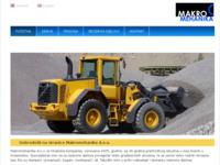 Slika naslovnice sjedišta: Makromehanika - servis radnih strojeva i prodaja rezervnih dijelova (http://www.makromehanika.hr)
