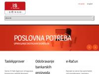 Slika naslovnice sjedišta: Senso IS - informacijski sustavi (http://www.senso-is.hr)