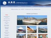 Frontpage screenshot for site: A.B.E. Inženjering d.o.o. (http://www.abe-inzenjering.hr)