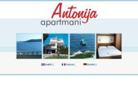 Frontpage screenshot for site: turistički apartmani na obali Vinišća u vili Antonija (http://www.villa-antonija.com)