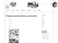 Slika naslovnice sjedišta: Auto-Ida (http://www.auto-ida.hr/)