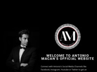 Frontpage screenshot for site: Antonio  Macan (http://www.antoniomacan.de)