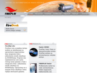 Frontpage screenshot for site: FirePlay (http://www.fireplay.hr)
