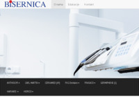 Frontpage screenshot for site: Bisernica d.o.o. (http://www.bisernica.hr/)
