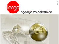 Frontpage screenshot for site: Agencija za nekretnine Largo-bim d.o.o. (http://www.largo-bim.hr)