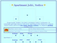 Slika naslovnice sjedišta: Apartmani Jolić, Vodice (http://www.inet.hr/~djolic/)