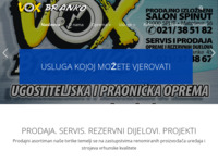 Frontpage screenshot for site: Vox-Branko - Split (http://www.vox-branko.hr/)