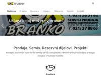 Slika naslovnice sjedišta: Vox-Branko - Split (http://www.vox-branko.hr/)