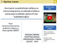 Slika naslovnice sjedišta: Općina Lovas (http://www.lovas.hr/)