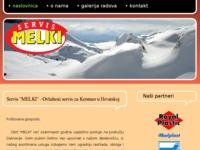 Frontpage screenshot for site: Servis-melki.hr (http://www.servis-melki.hr)