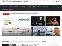 Frontpage screenshot for site: Međimurske novine (http://www.mnovine.hr)