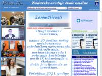 Slika naslovnice sjedišta: RivaOn - portal zadarskih srednjih škola (http://www.rivaon.com)
